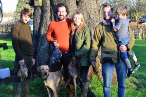 Harry, William, Abby, Jon and Charlie